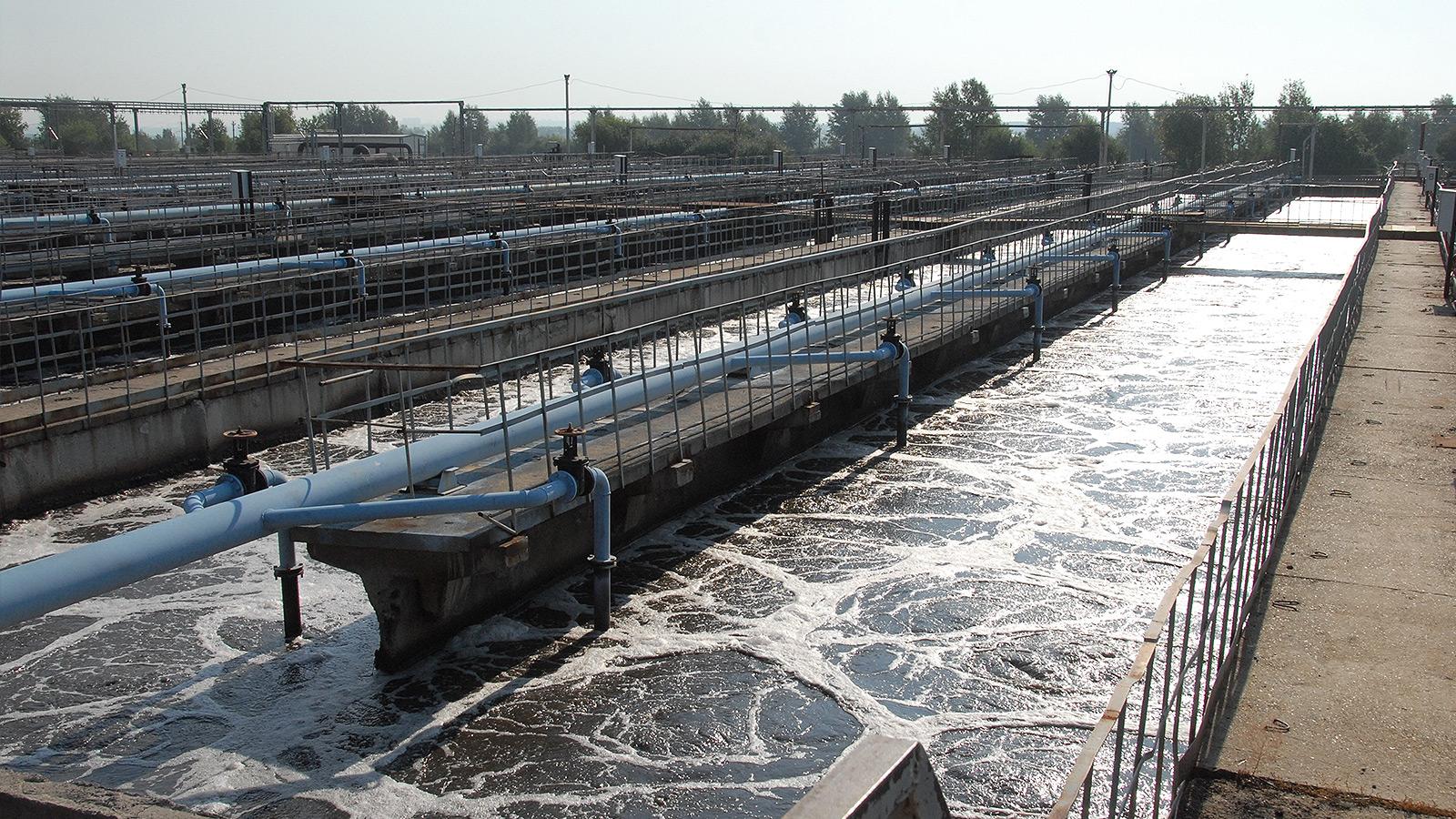 Реконструкция биологических очистных сооружений в Перми
