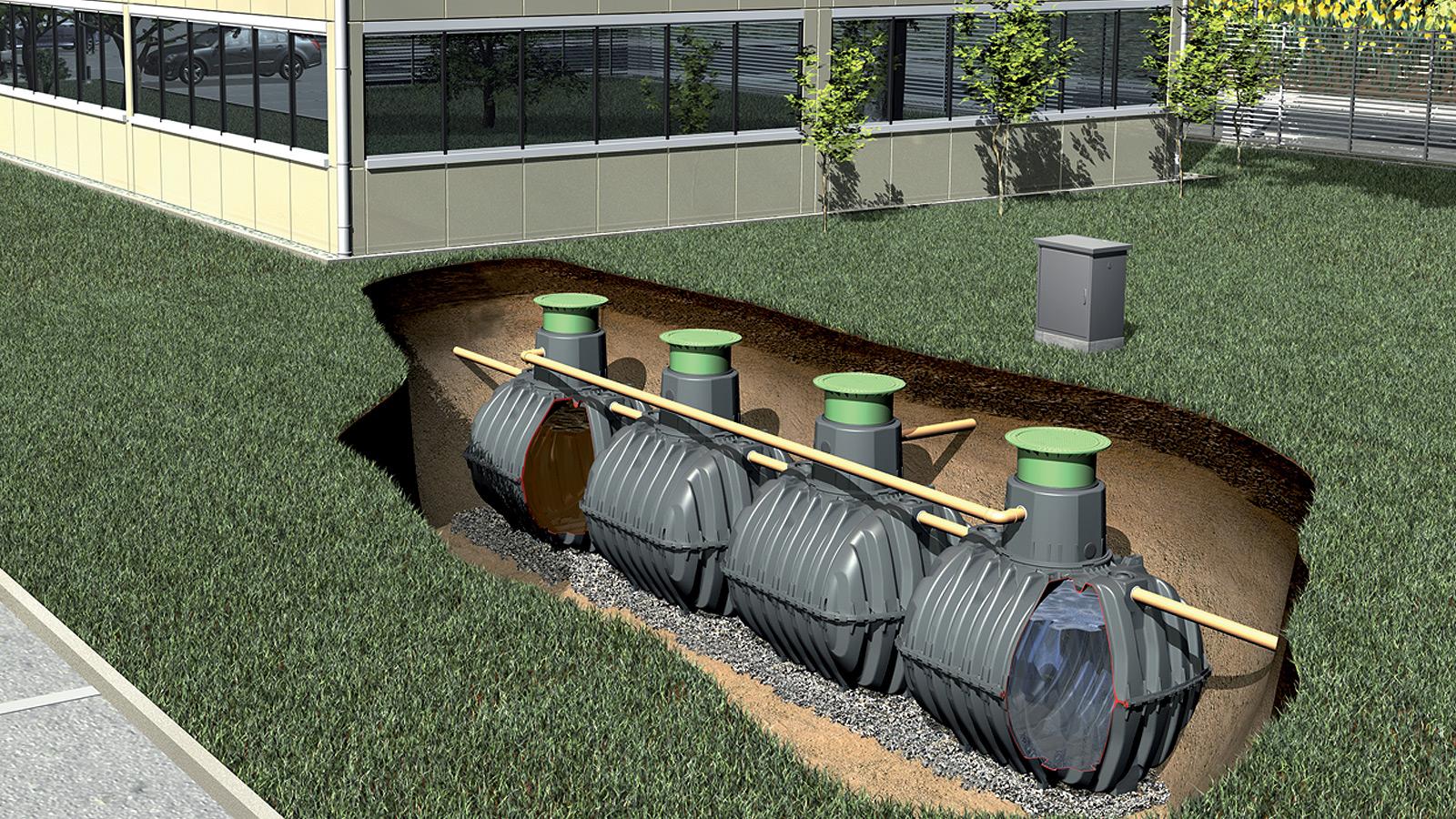 Новые технологии в создании автономной канализации