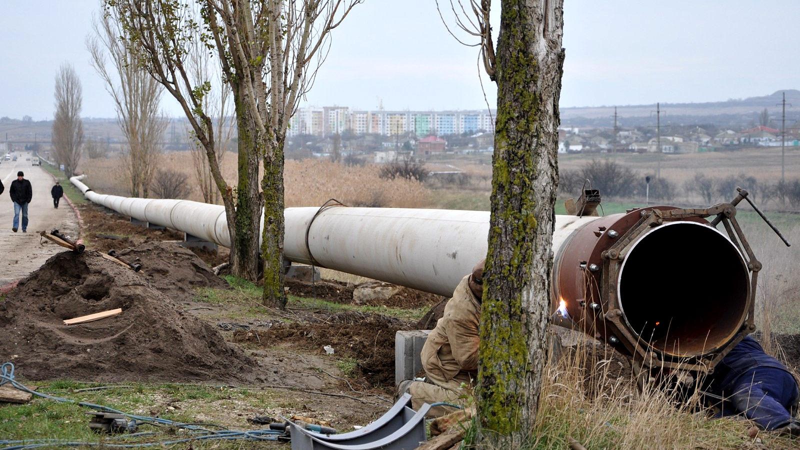 Глобальная реконструкция системы водоснабжения Крыма