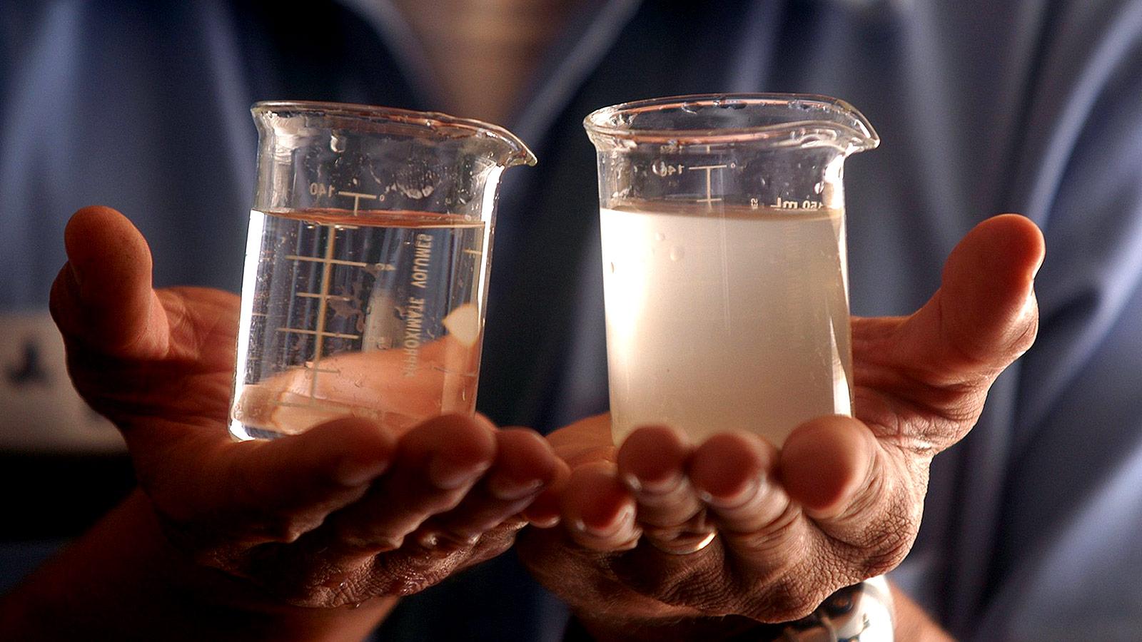 Как очищают воду во время эпидемии