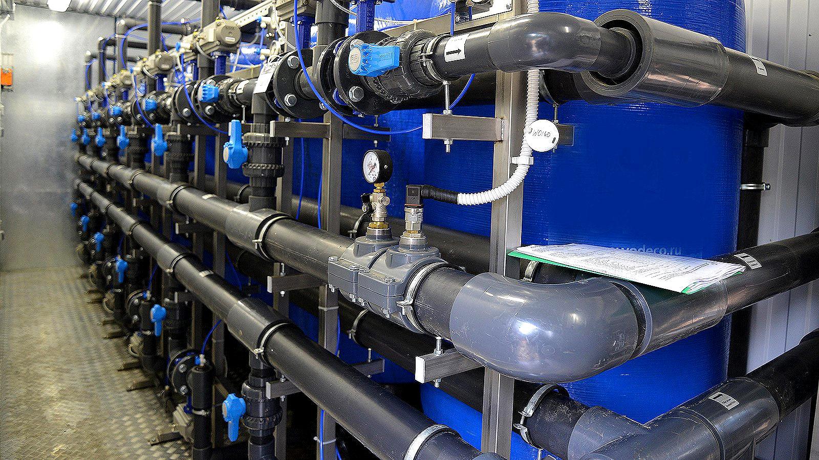 Новая современная система водоснабжения города Краснокамск