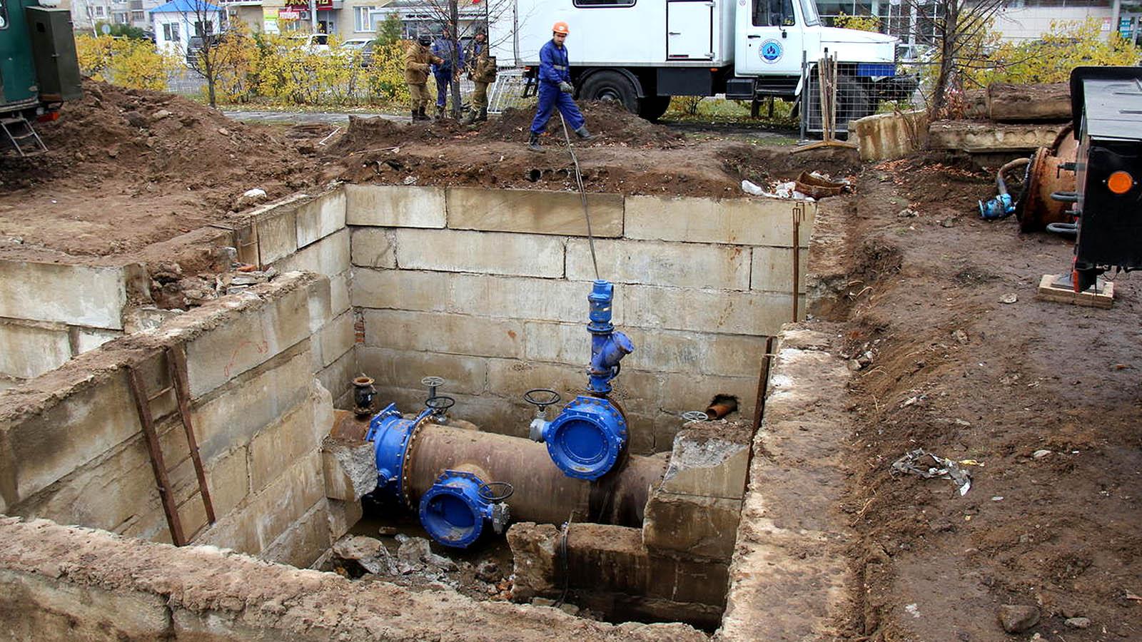 В Воронеже дошло до суда дело о хищении 7 млн при реконструкции водопровода