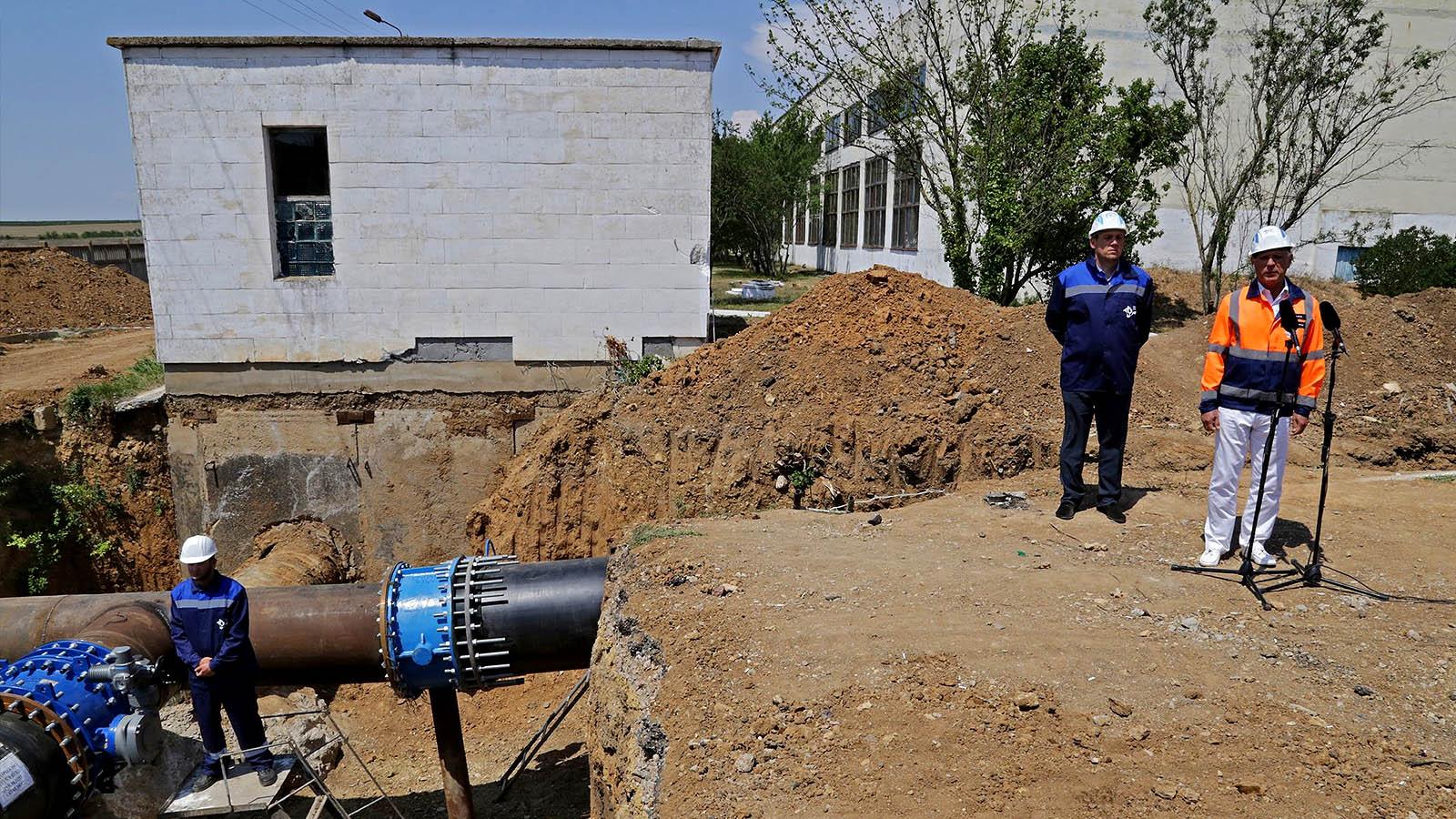 Когда в Крыму будет бесперебойное водоснабжение?