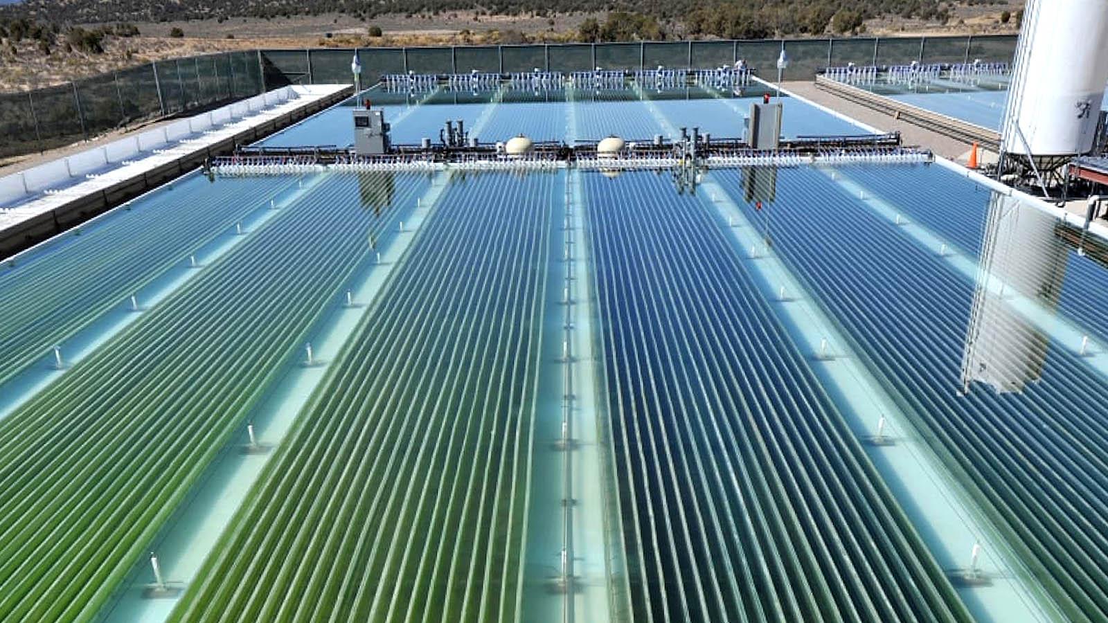 Очитка сточных вод при помощи солнечной энергии