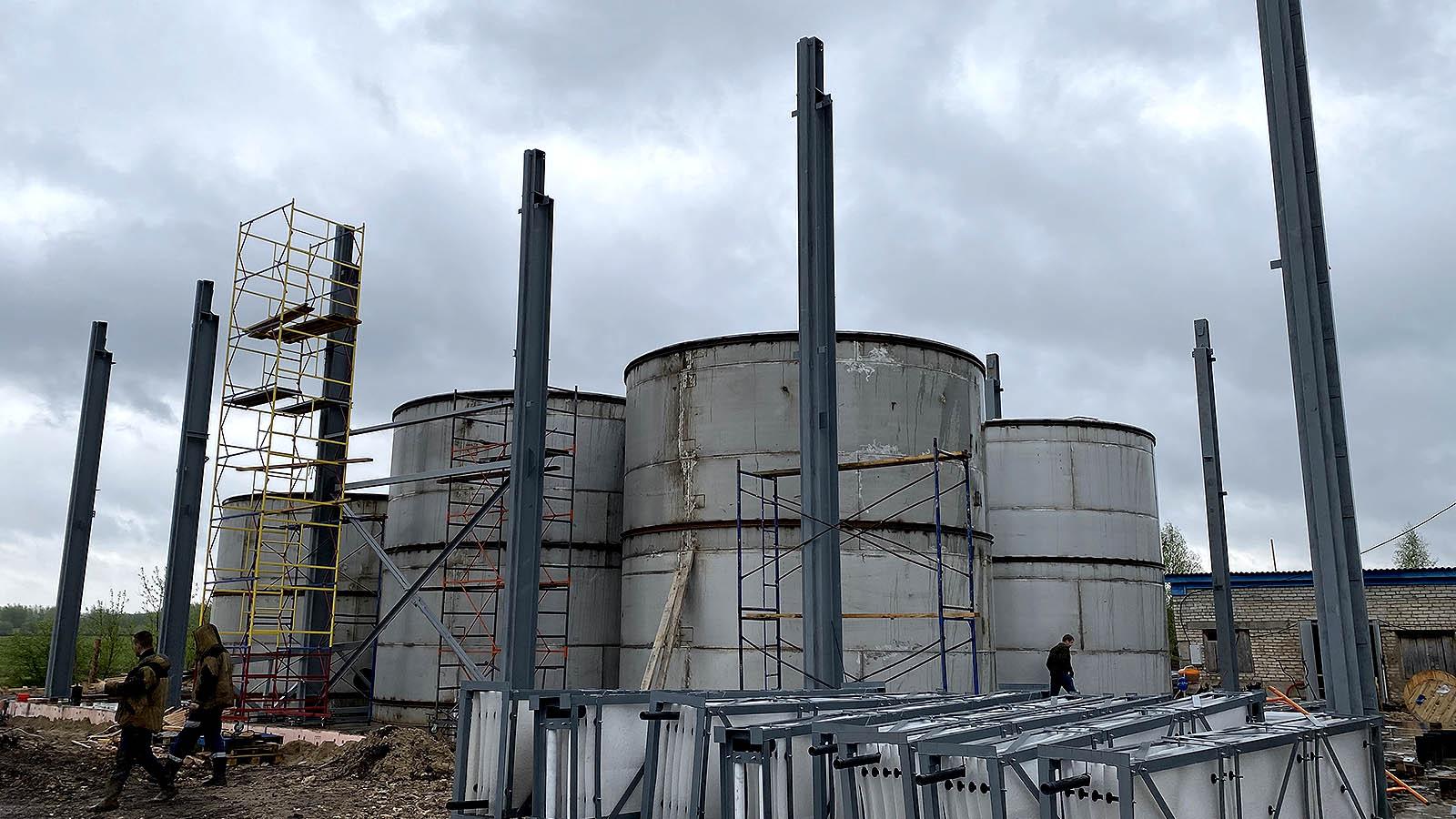 Очистные в Бутурлинском районе закончены но в эксплуатацию их не вводят